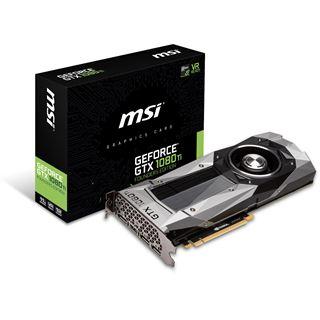 11GB MSI GeForce GTX 1080 Ti Founders Edition bei  Mindfactory im Mindstar