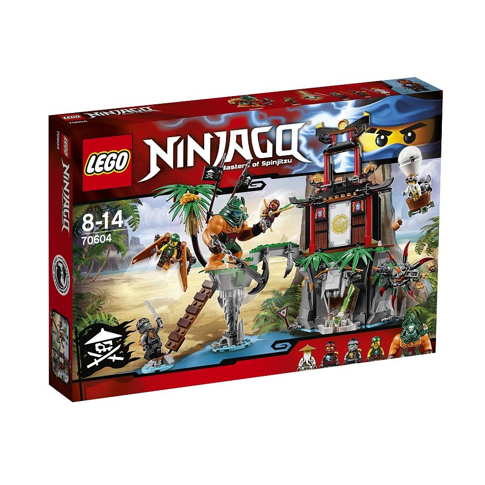 Lego Ninjago 70604 Schwarze Witwen-Insel für 29,98€ bei Abholung @ToysRUs
