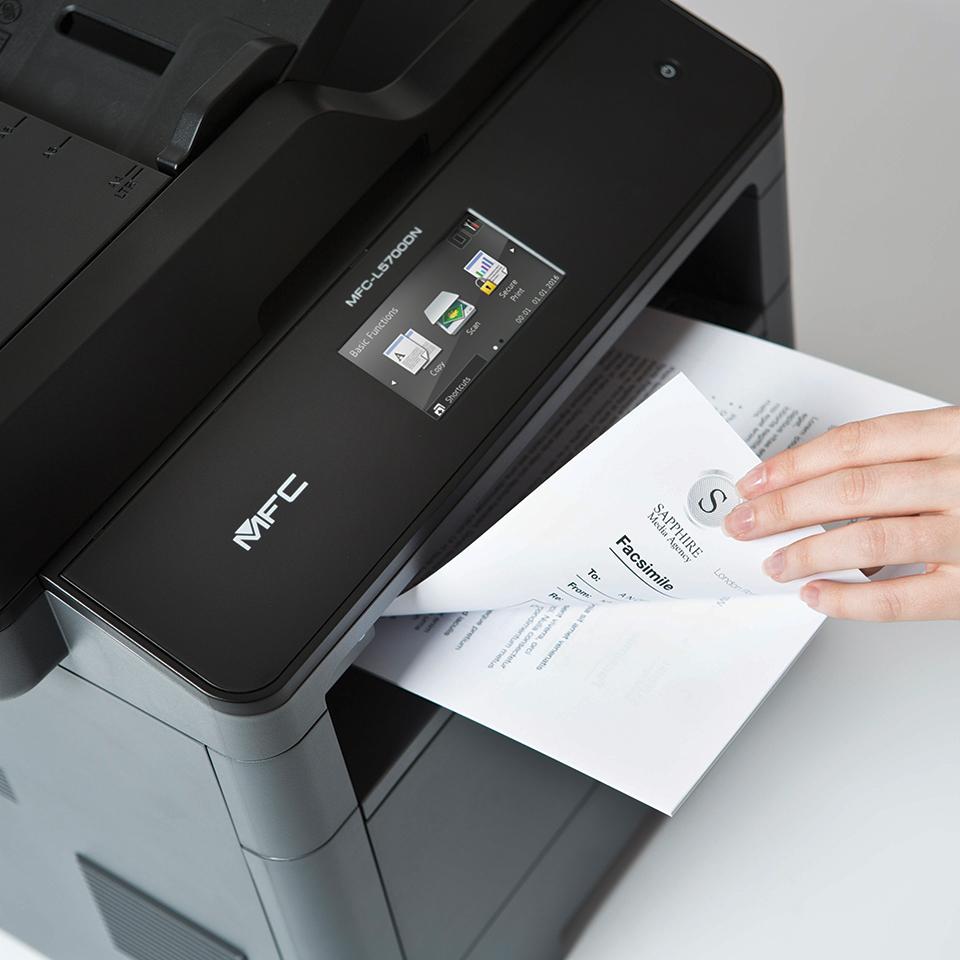 20% Rabatt auf Brother Drucker - z.B. Brother MFC-L5700DN Monolaser-Multifunktionsdrucker 4in1 für 245 € statt 295 €