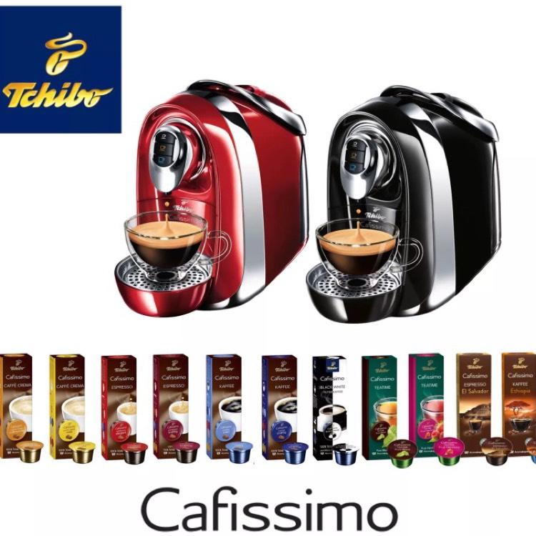 Tchibo Cafissimo COMPACT + 110 Kapseln Kaffeemaschine @eBay