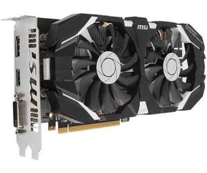[amazon.fr] MSI GeForce GTX 1060 6GT OC V1 (217,59€ mit Cashback)