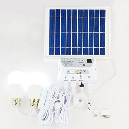 Solarset für Camping, Outdoor, usw. Jetzt bei Amazon um 12% reduziert!!!