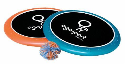 Ballspiel: Ogo Sport Set - 2 Spielscheiben + Ball für 18,69€ versandkostenfrei bei [bücher.de]