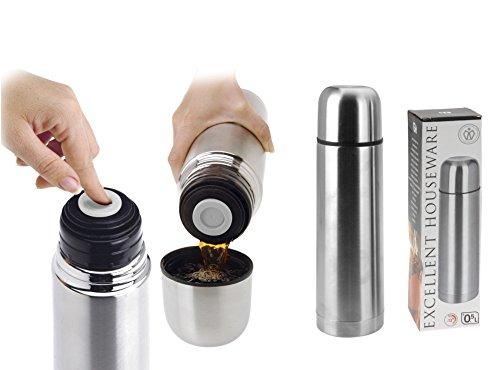 Isolier-Flasche 0,5 L Edelstahl mit Druckverschluss - Molali Edition für 7,95€ inkl. Versand [AMZ Prime]