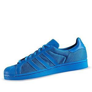 adidas superstars in blau in versch. Größen mit Coupon nur 47,99
