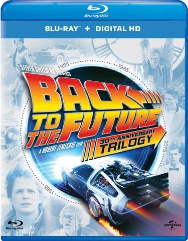 Zurück in die Zukunft - Trilogie (30th Anniversary Edition, 4 Discs) (Blu-ray) für 11,98€ inkl. VSK (Zavvi)
