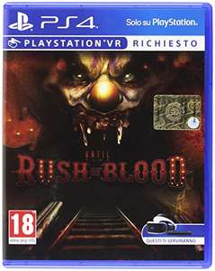 Until Dawn: Rush of Blood PS4 PSVR [Amazon.it] für 13,60 incl. Versand
