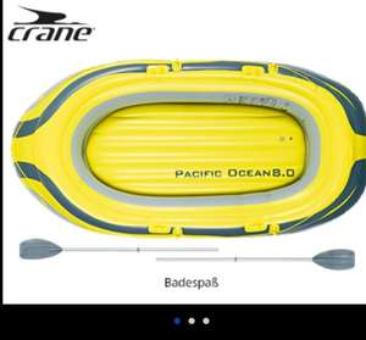 [Aldi-Süd] Badeboot/ Sportboot für 3 Erwachsene