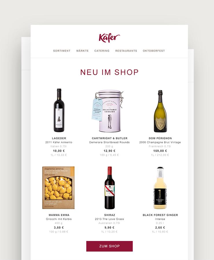 Feinkost Käfer - 5+1 Aktion für Wein: 2015 Soave Monte Carbonare, Italien