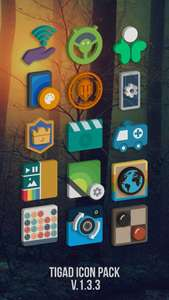 [Android] Tigad Pro Icon Pack kostenlos im Playstore statt 1,29€