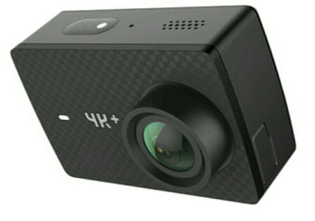 YI 4K Plus Action Kamera Schwarz 4K/60fps