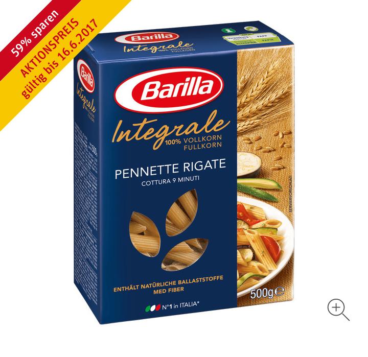 [REWE] Barilla Pasta (auch Integrale)
