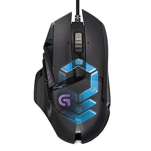 Logitech G502 Proteus Spectrum 12.000 dPi Gaming Maus mit 11 Tasten [Amazon.es]