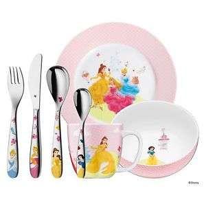 WMF Kindergeschirr-Set 7-teilig 'Princess' oder 'Safari' 6-teilig für 24,95€ versandkostenfrei [Nautilus bei ebay]