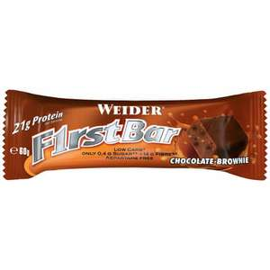 [Vitafy] Weider F1rst Bar (24x60g) MHD 30.06.2017 (nur Chocolate Brownie)