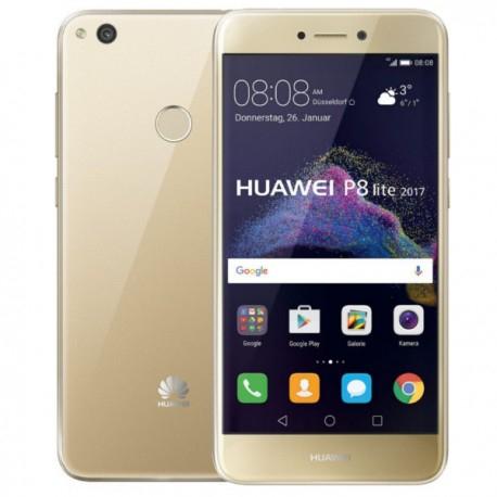 "Huawei P8 Lite 2017 - Gold - 5,2"" - 3GB RAM - Octa Core - 1920x1080 - 3000mAh - Dual Sim - Android 7"