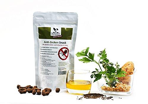 Nur noch für kurze Zeit | Anti-Zecken Snack für Hunde - Biologische Abwehr gegen Zecken, Flöhe und Milben - Auch für Welpen geeignet | 250g für 11,99 ink Versand [AMZ Prime]
