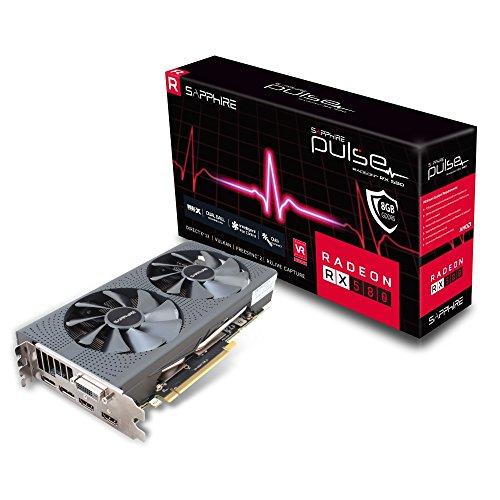 amazon.fr: Sapphire Pulse Radeon RX 580 8GD5 (11265-05-20G) für 245,06€