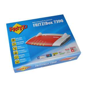 [Ebay] FRITZ!Box 7390 WLAN Router (B- Ware, full refurbished) für 116,90 Euro