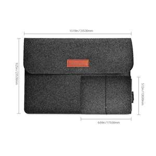 Wieder da: 12 Zoll Filz Sleeve Laptoptasche bei [Amazon Prime]