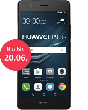 Huawei P9 Lite - mit 3GB RAM @ O2