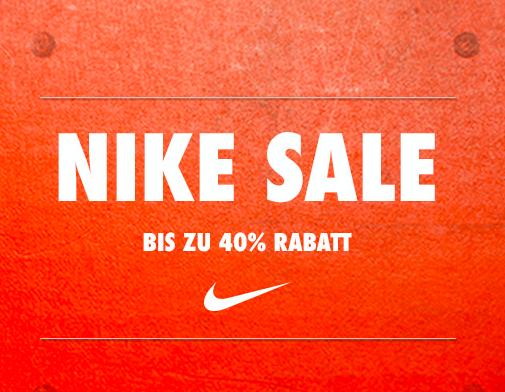 End of Season-Sale bei Nike mit bis zu 40% Rabatt
