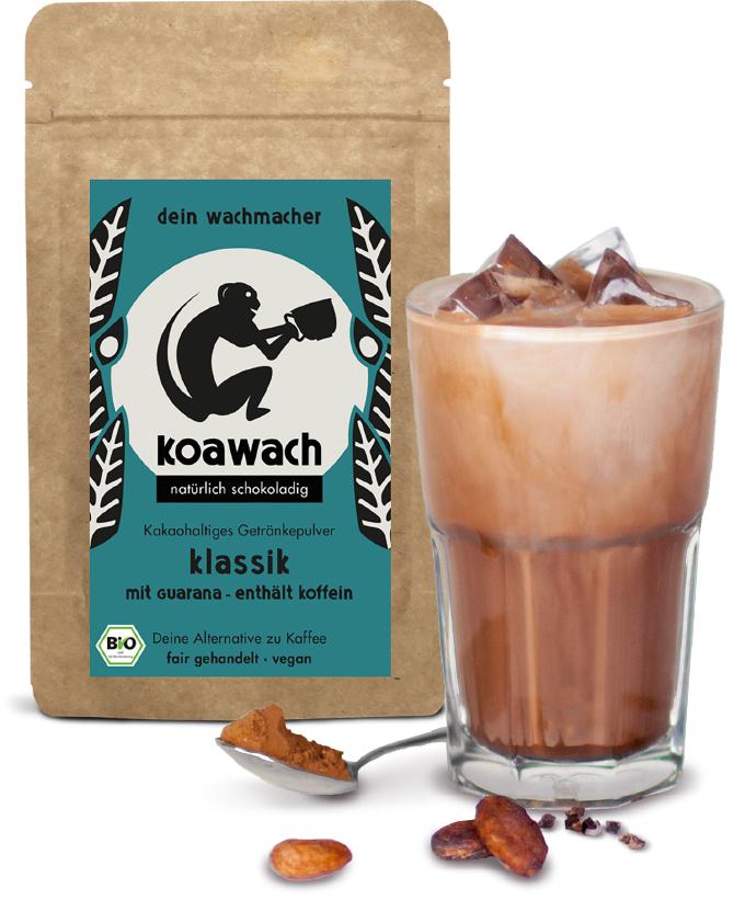 Koawach (Kakao mit Guarana und Koffein) mit Geld zurück Garantie / versandkostenfrei