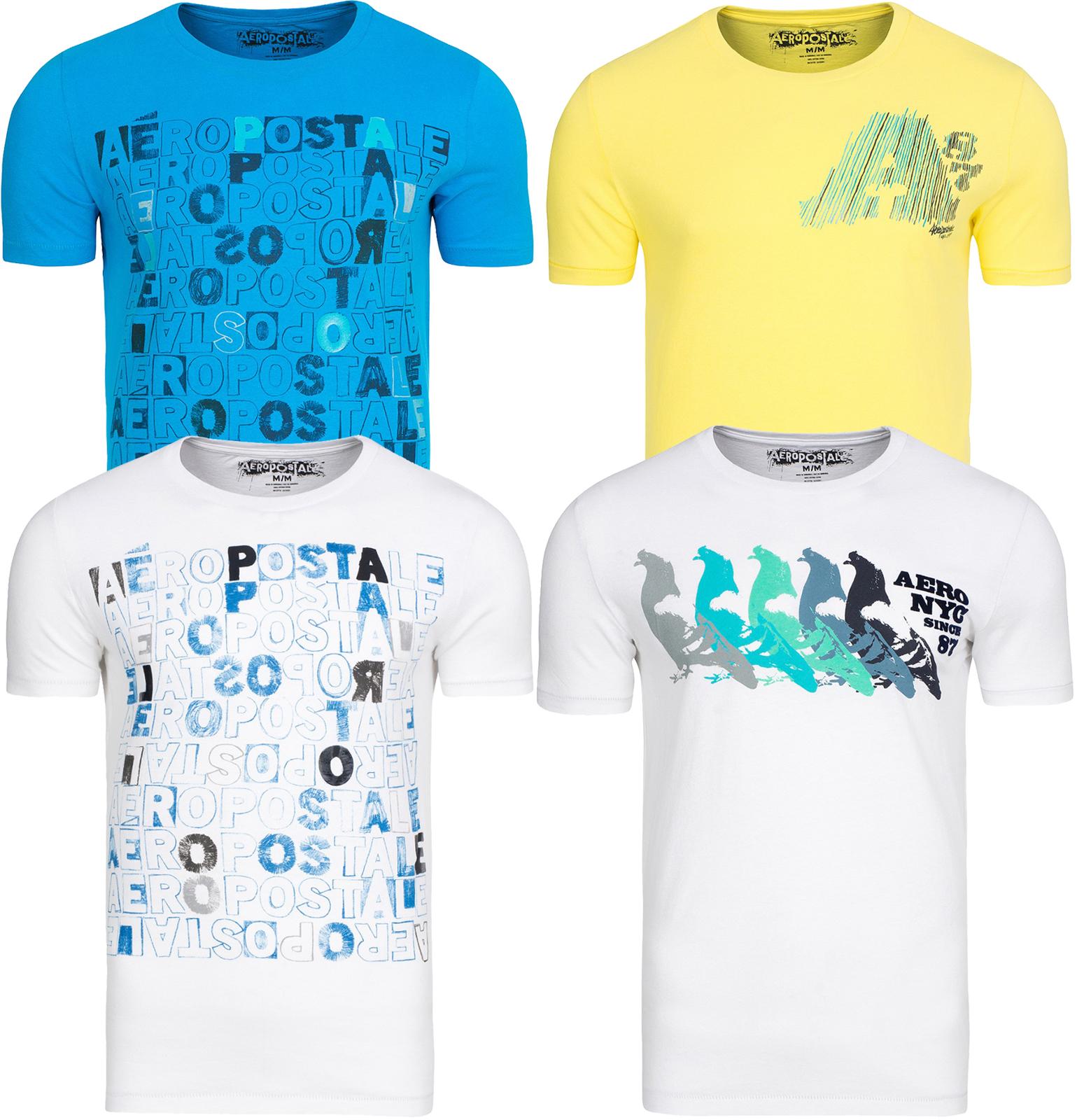 [outlet46] Aeropostale Shirts weiß / gelb (XS-M) für 2,99€
