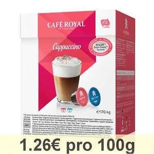 [EBAY] Café Royal Cappuccino (Dolce Gusto) €0,71/100g