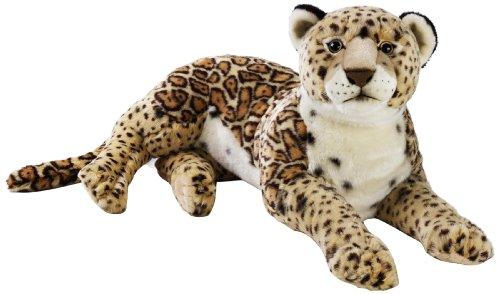 "Amazon Italien National Geographics ""Jaguar"" Stofftiere Plüsch Spielzeug (groß, natur)"