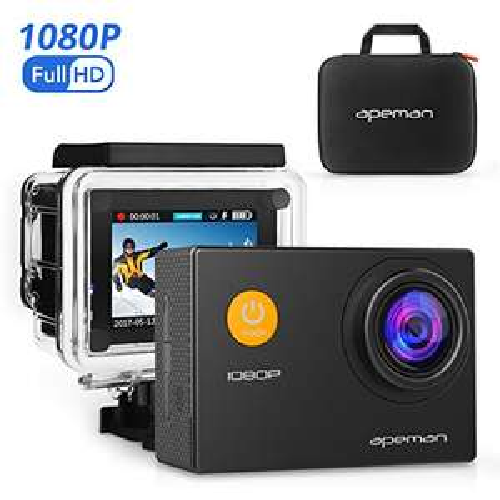[Amazon Prime] APEMEN Full HD 1080p Wasserdichte Aktion Kamera 36,79€