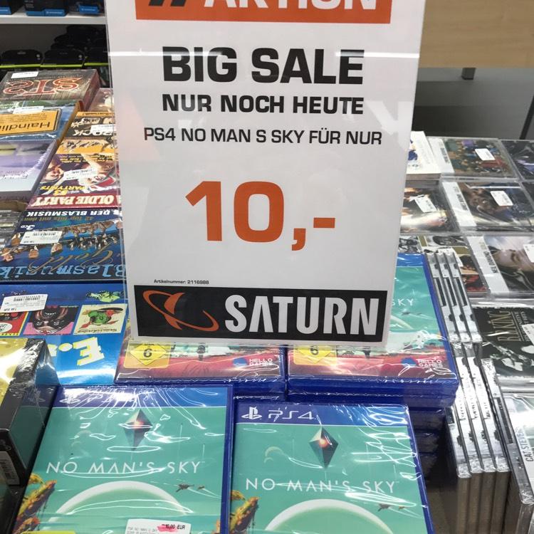 No Man's Sky PS4 für 10€ (Saturn Erlangen)