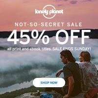 45% Rabatt auf (englischsprachige) Lonely Planet Reiseführer
