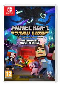 Minecraft Story Mode: The Complete Adventure (Switch) für 34,50€ inkl. VSK (Simplygames)