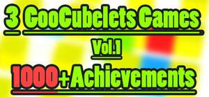 [Steam] GooCubelets, GooCubelets 2 und GooCubelets: The Alghorithm @gleam.io