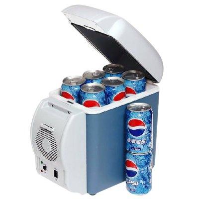 elektrische Kühlbox 12 Volt, 7,5 Liter mit Tragegurt