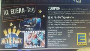 Für 15€ in den movie park Bottrop