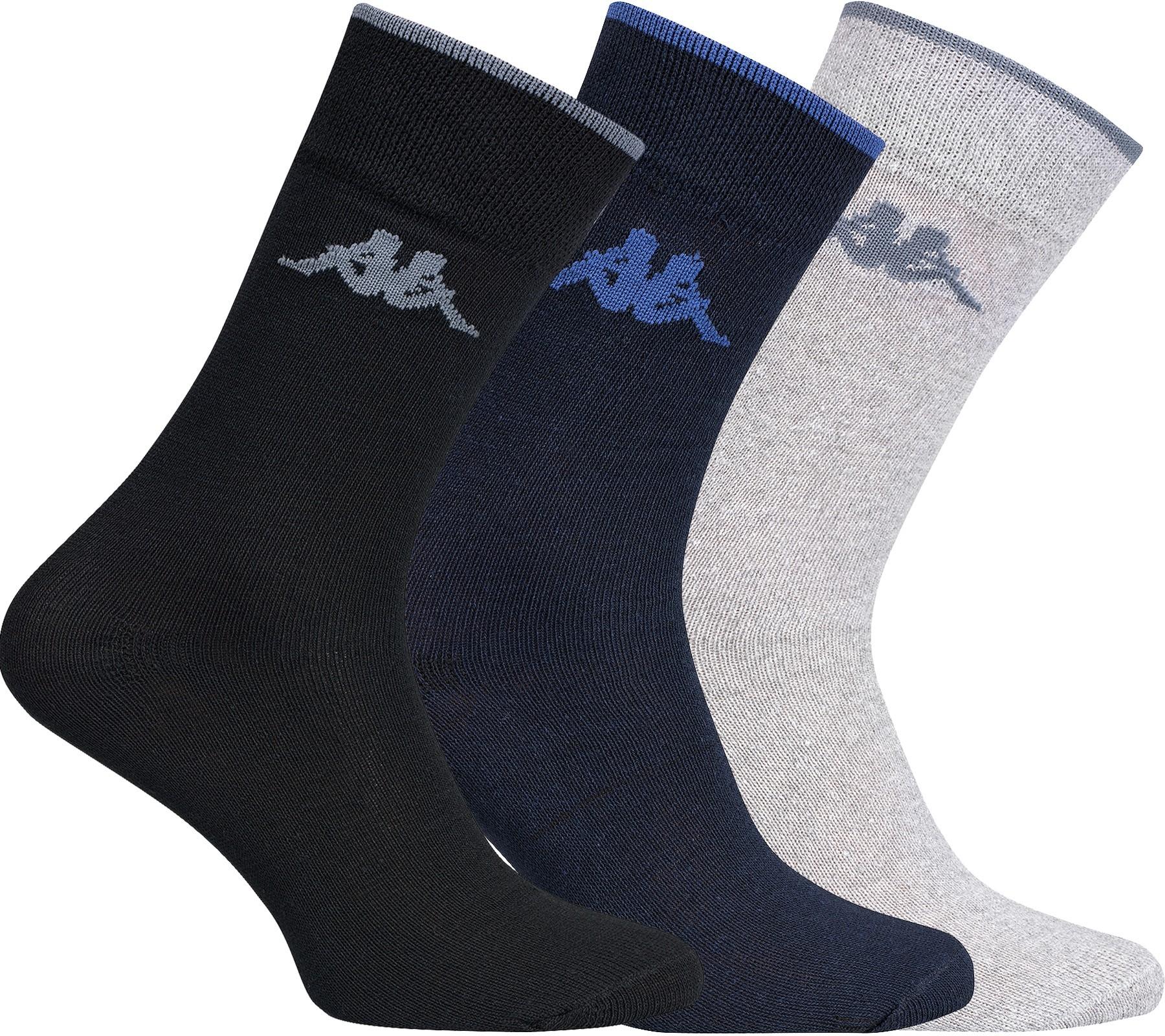 20x Kappa Socken 39-42 und 43-46 / schwarz / blau / grau