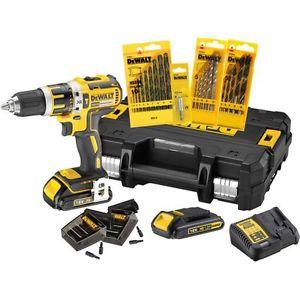 Ebay- DeWalt Akku-Schlagbohrschrauber DCK795S2T 18 Volt 2x Li-Ionen Akku 1,5Ah mit viel Zubehör