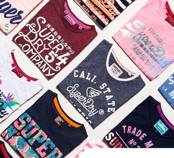 *Weitere Reduzierungen* End of Season Sale bei [Superdry] mit bis zu 50% Rabatt - z.B. Basic Vintage Shirt für 16,22€