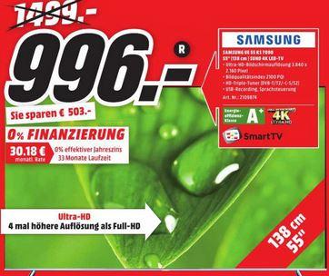 [Lokal] Media Markt Wiesbaden-Hasengarten Samsung UE55KS7090 für 996€