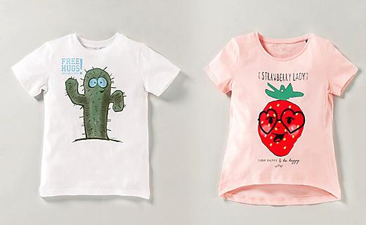 10% extra Rabatt auf reduzierte Mode bei [MyToys] T-Shirts ab 2,70€ - MBW 15€