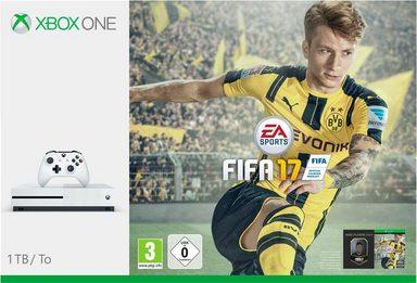 Xbox One S 1TB + Fifa 17 (DLC)