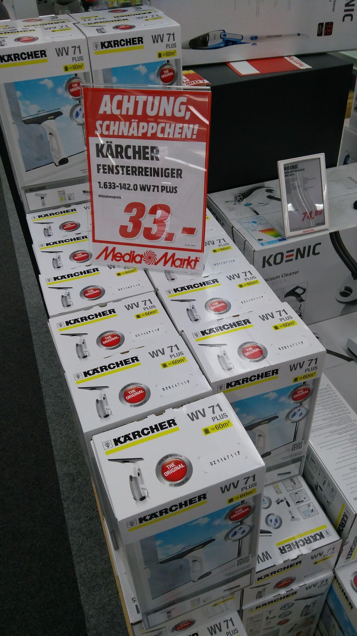 Kärcher WV 71 Plus Fensterreiniger [MediaMarkt Mannheim]