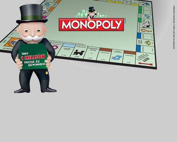 Gewinnspiel bei Galeria-Kaufhof - Mini Monopoly Spiel kostenlos bei Filialabholung oder 5€ Gutschein mit 5€ MBW