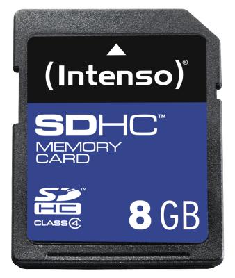 SDHC-Karte Intenso 8 GB Class 4 [Kaufland Schmalkalden]