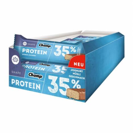 Champ Shape 35% Protein Bar (24 x 35 g) + (zzgl. Versandkosten)