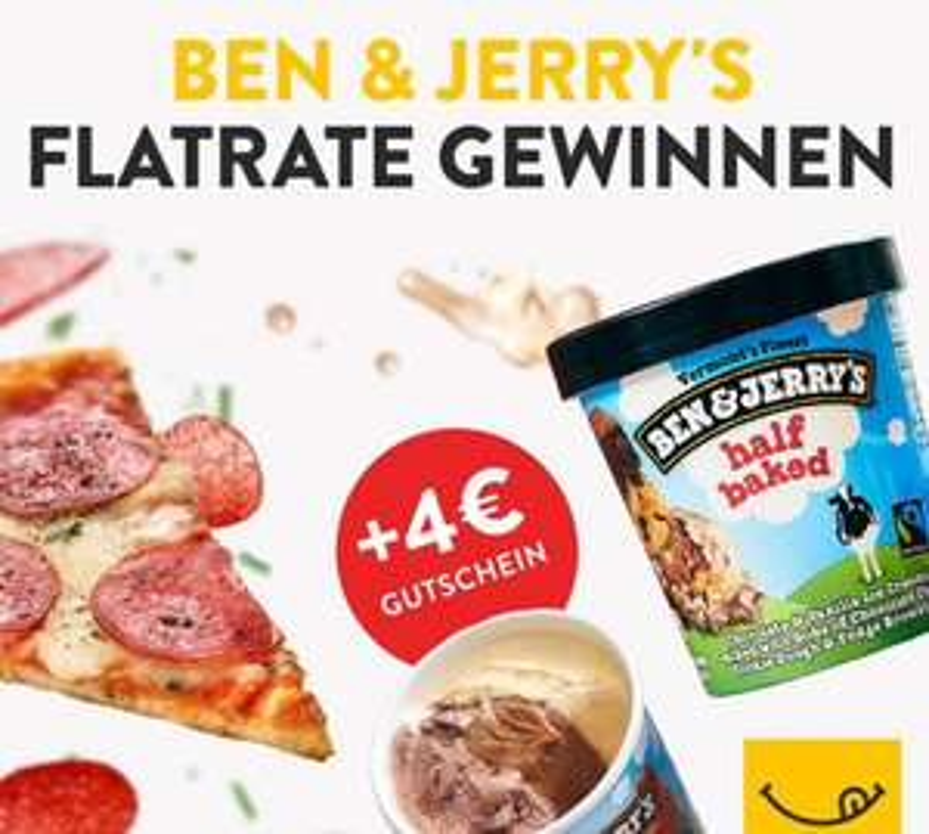 """[pizza.de] 4€ Gutschein, 8€ MBW, Neu- und Bestandskunden, Code: """"hitzefrei"""""""