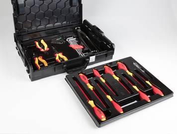 [Westfalia] Wiha Werkzeug-Set 30-tlg. in L-BOXX schwarz