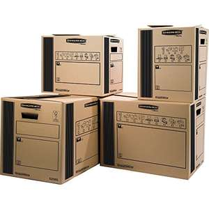 Amazon prime 10 Umzugsboxen Fellowes 948183 - Umzugsbox 33L